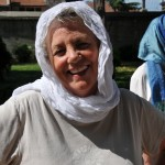 Laverne at Blue Mosque - Istanbul, Turkey