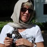 Ellen at Blue Mosque - Istanbul, Turkey