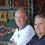 Russ and John - Turkey