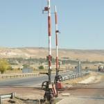 Rural rail crossing - Turkey