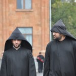 Priests; Armenian Church - Echmiadzin, Armenia
