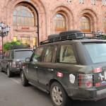 Range Rovers at Mariott - Yerevan, Armenia